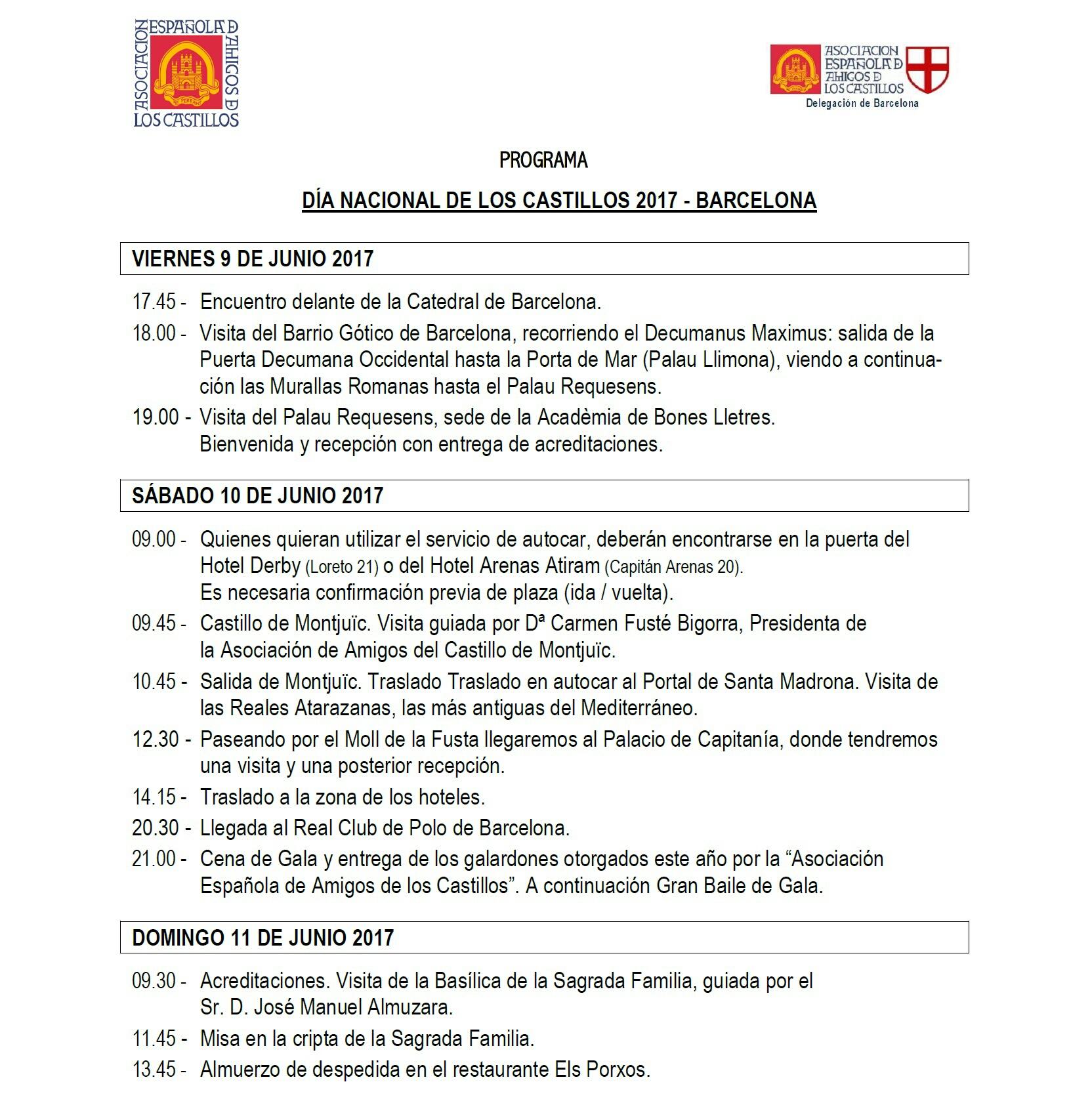DNC 2017 - Programa BCN-1