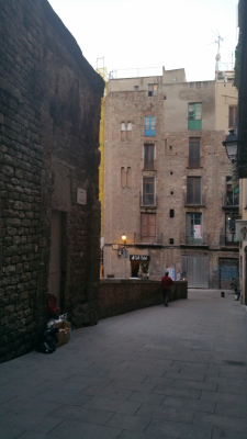 Muralla Romana Barcelona