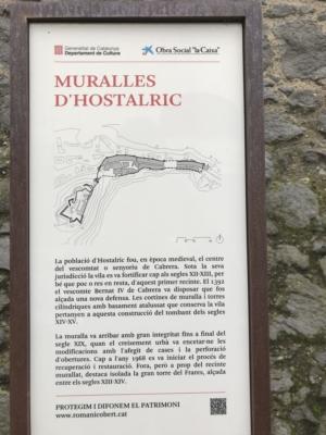 Muralla d'Hostalric